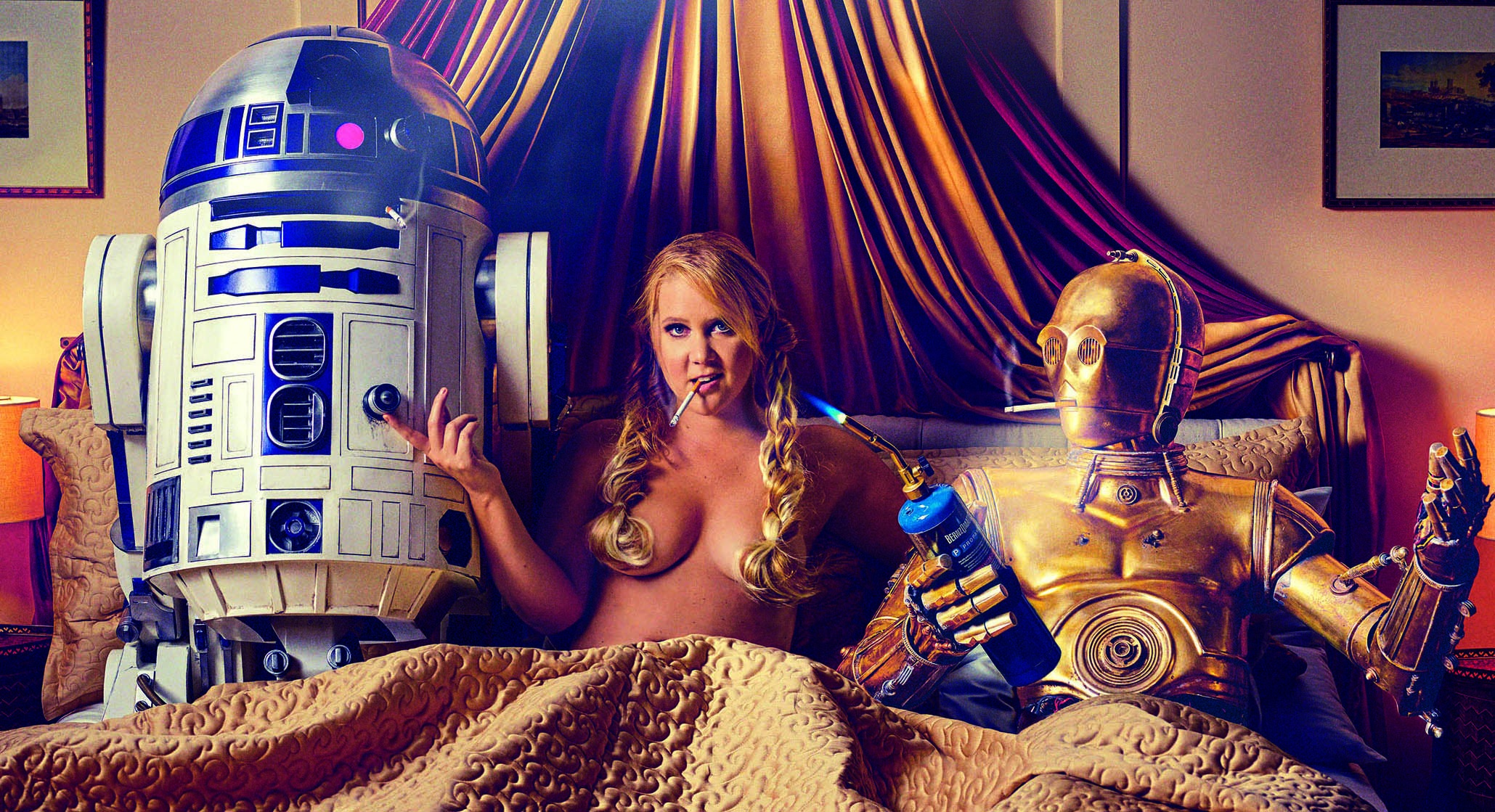 amy schumer star wars gq
