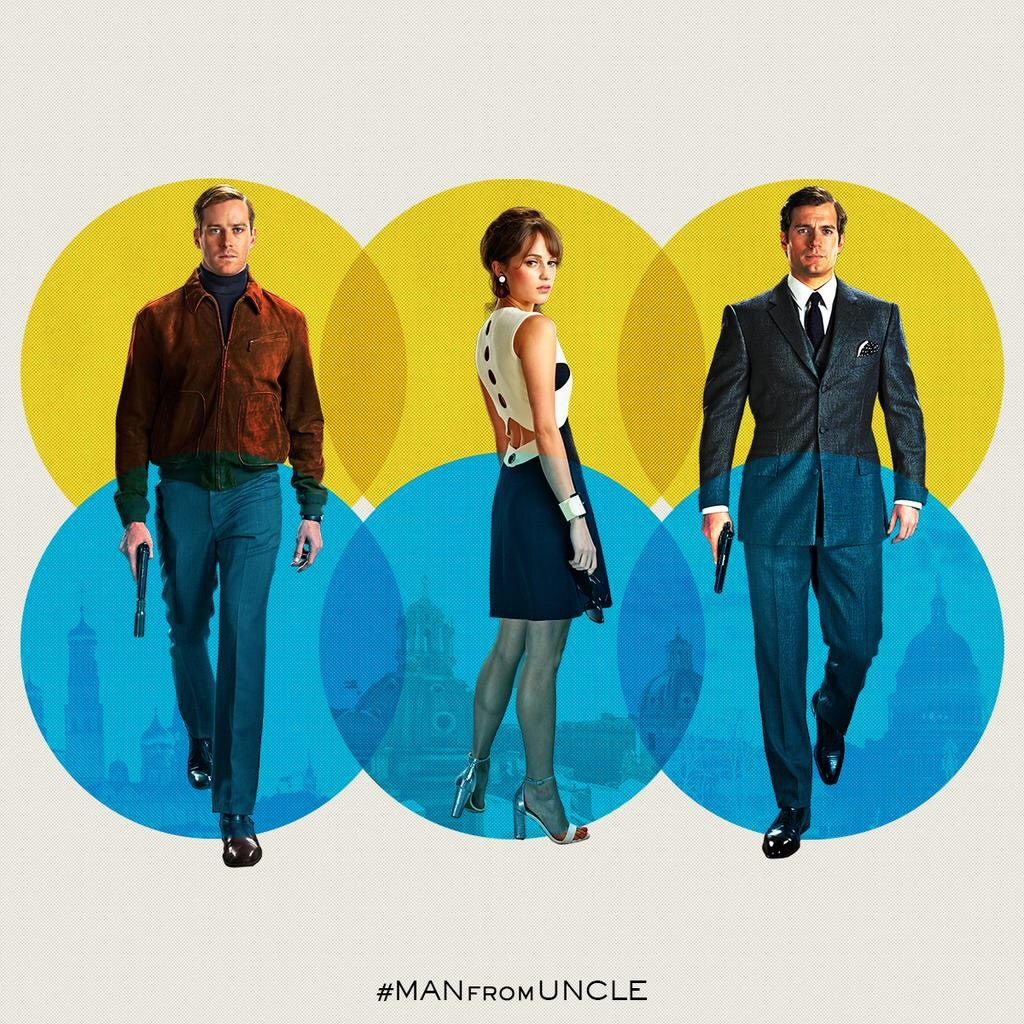 the man from u.n.c.l.e trio