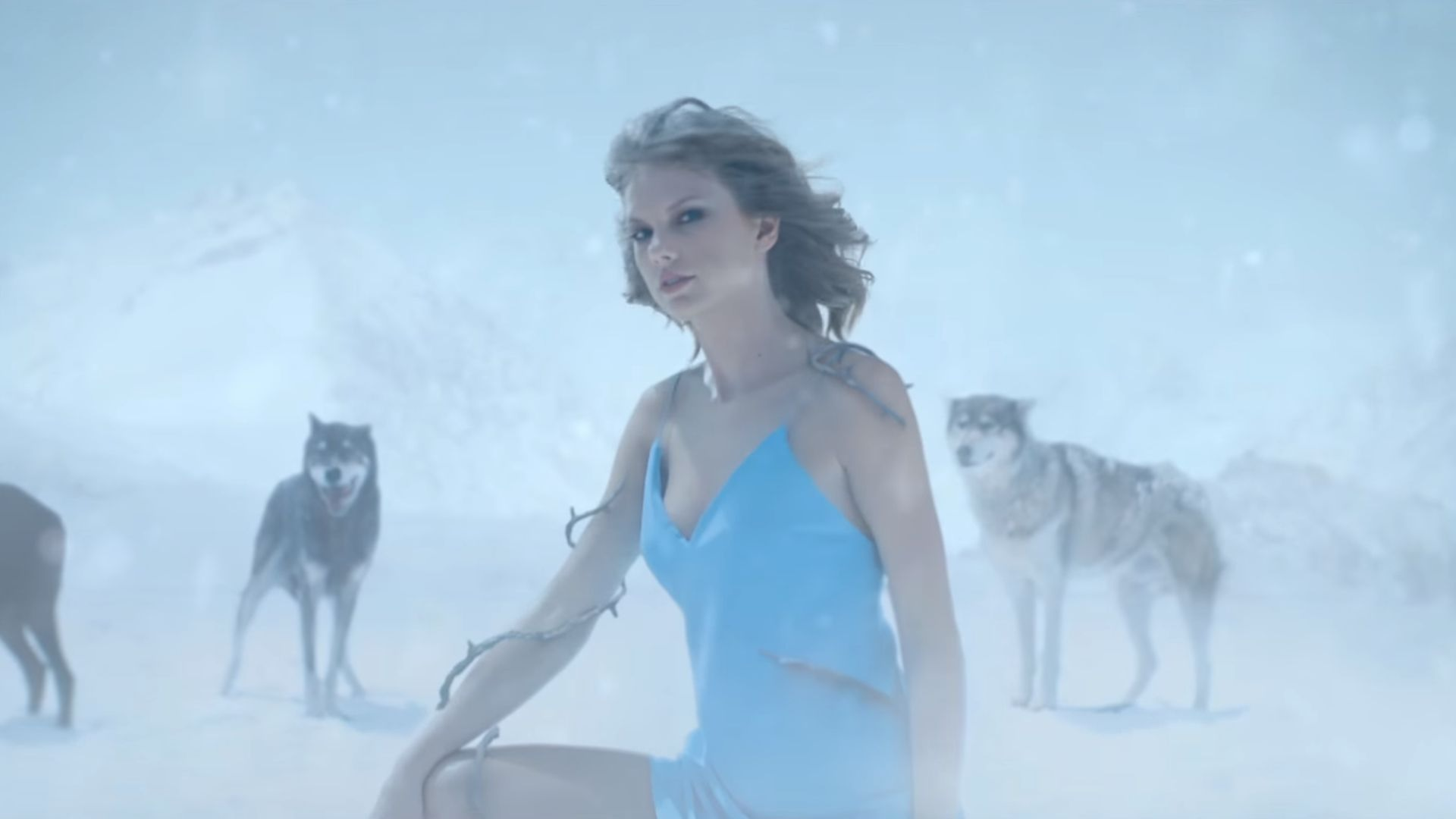 taylor swift out of the woods snow