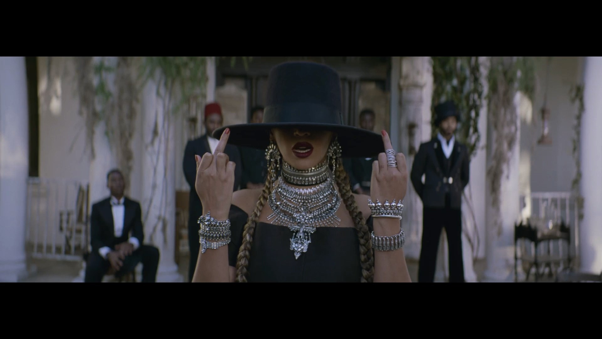 beyonce formation middle finger