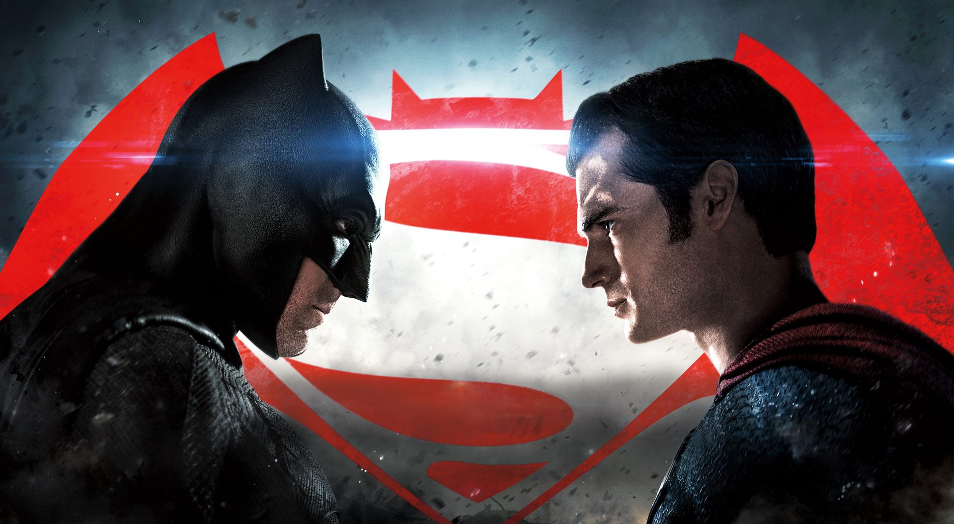 batman v superman face to face