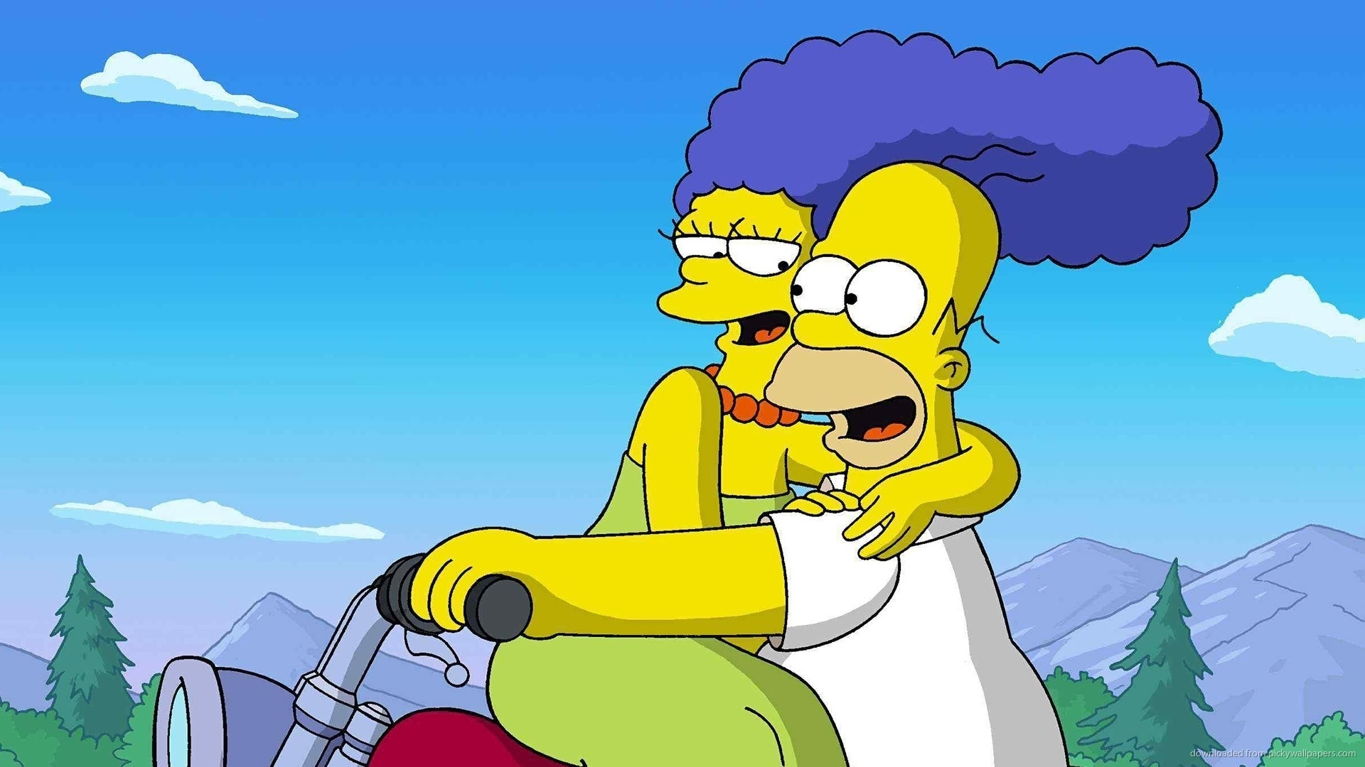 homer-and-marge-the-simpsons