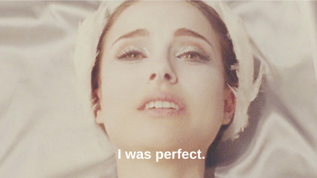 black swan perfectionism