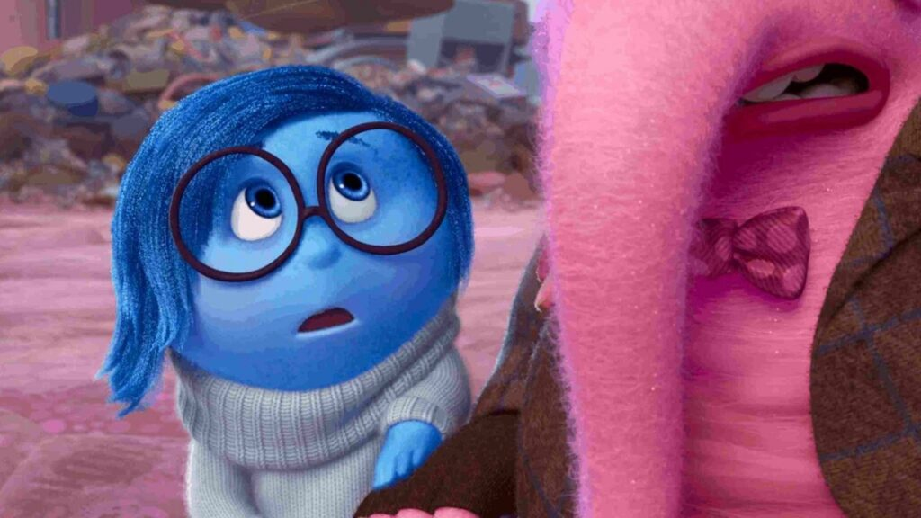 inside out 2015 movie sadness ending explained