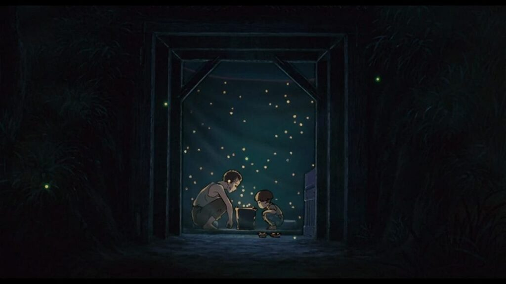 grave of the fireflies 1988 seita and setsuko