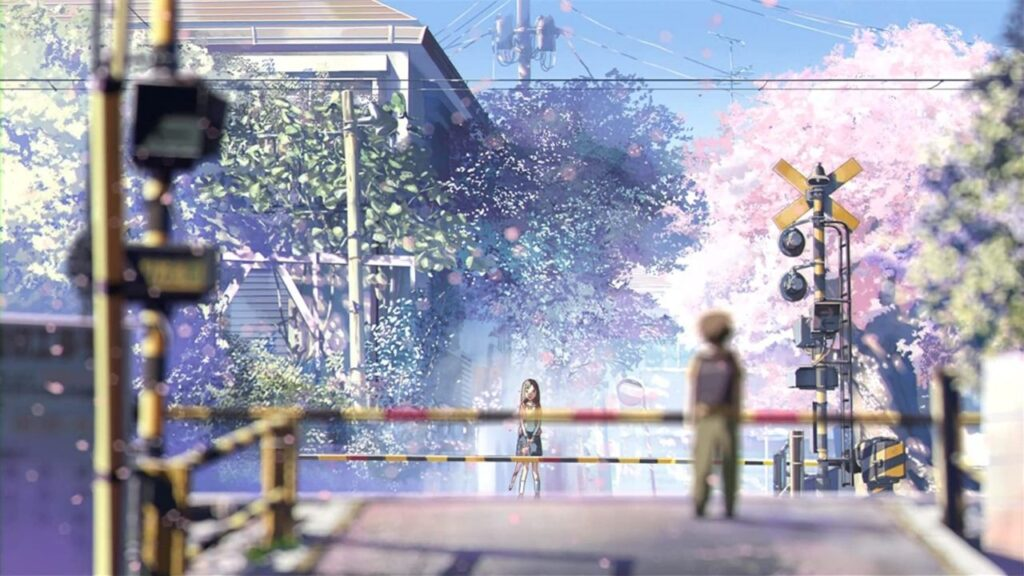 5 centimeters per second 2007 cherry blossoms