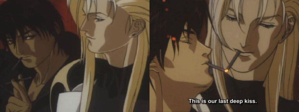 ai no kusabi riki and iason last deep kiss