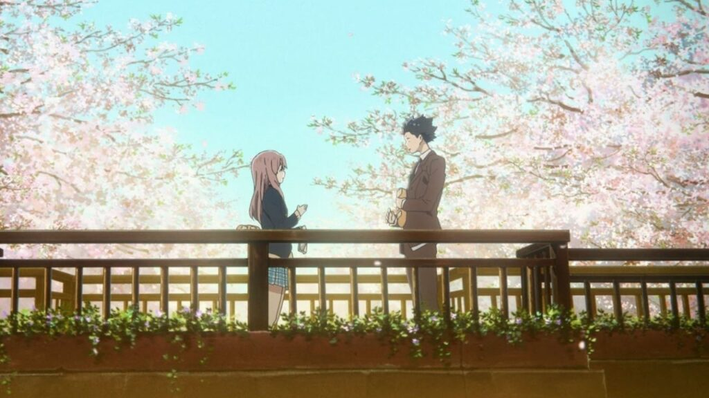 a silent voice / koe no katachi 2016 anime