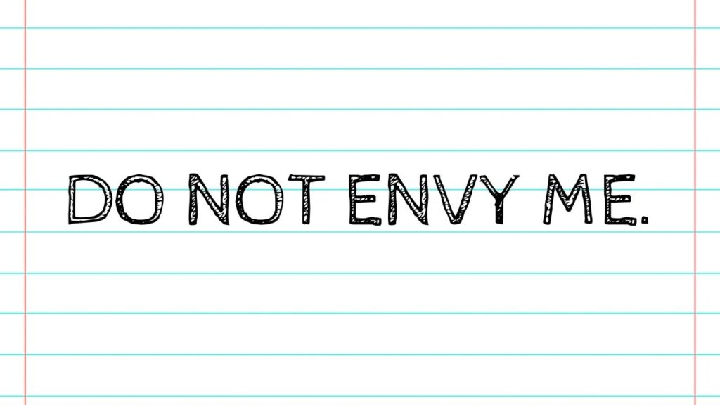 how to deal with envious people